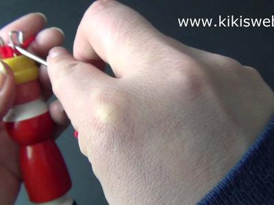 Basteln: Strickliesel abketten