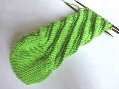 Nadelspiel Sockenkalender Februar * Ergonomische Socken