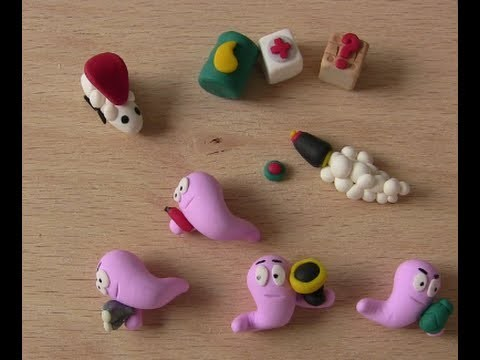 Polymer Clay. Fimo Charm Update 10