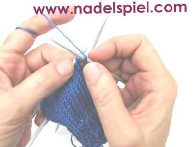 Socken stricken * Teil 1 * Lückenlose Bumerangferse á la eliZZZa