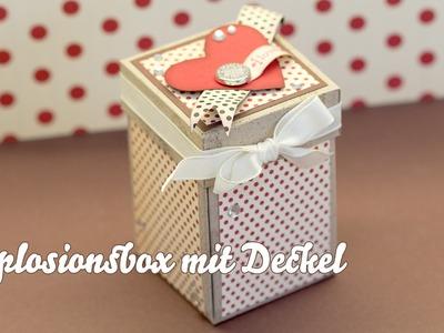 Tutorial - Box mit Deckel - Stampin Up