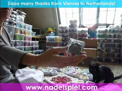 UNGLAUBLICH!!! 850 Granny Squares Somalia von Jeanet aus Holland!