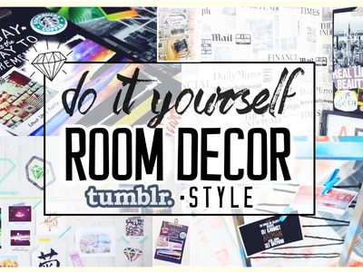 4 ROOM DECOR Ideen für Erinnerungen! Easy, cheap & Tumblr! ☯