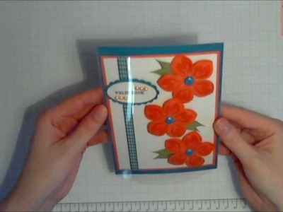 Acetate Card - Build A Blossom