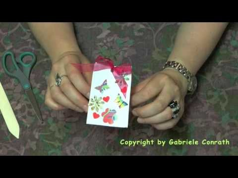 DIY Geschenktüte aus Briefumschlag
