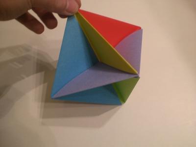 Faltanleitung: Origami Puzzle
