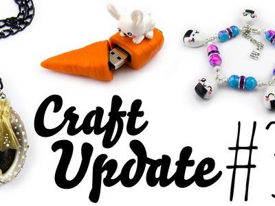 [Fimo Inspirationen] Craft Update #30: Lang lang ist's her.  :) | Schmuck aus Fimo