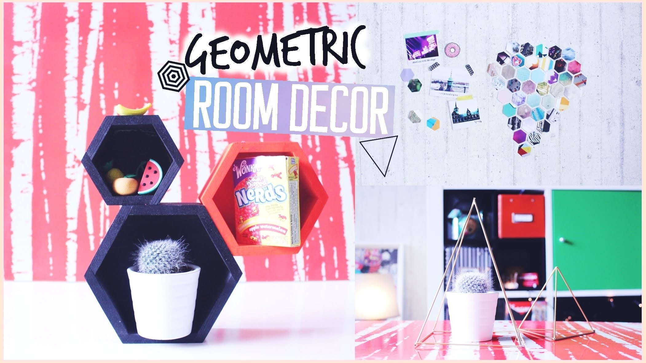 GEOMETRIC Room Decor Ideen! ♢ Einfach & günstig!