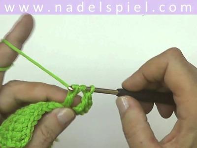 Häkeln lernen mit eliZZZa #13 * Doppelte Stäbchen * Zweifache Stäbchen