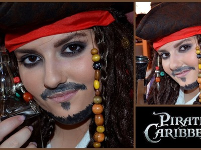 Karneval Lookbook 1# Captian Jack Sparrow Tutorial (MakeUp + DIY Kostüm))