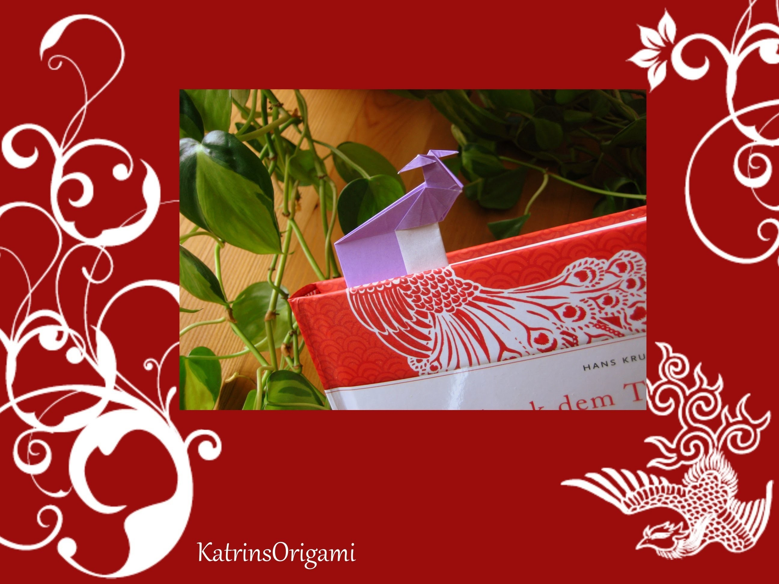 Origami ❀ Bird ❀ Bookmark