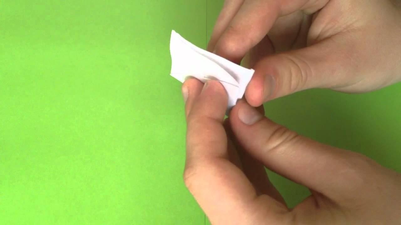 Origami Huhn selber basteln . Papier Huhn basteln