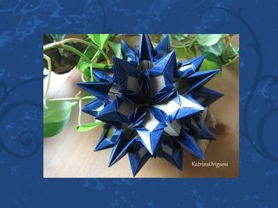 Origami ❀ Mandragora ❀ Kusudama