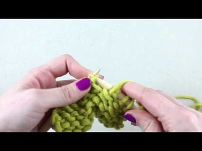 Simple Stylish Stricken - Tutorial: Strickkurs Technik 7: Zunehmen - 1 Masche links
