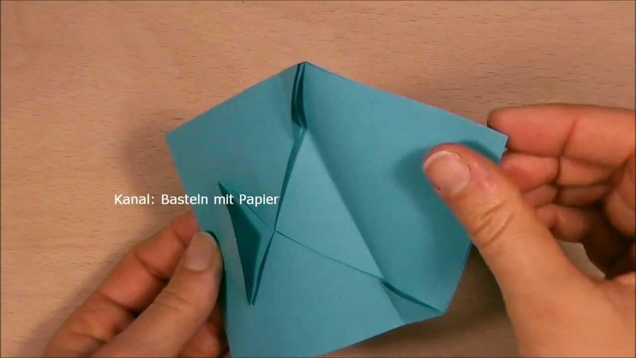 Briefumschlag falten z.B. zum Gutscheine zu verpacken - Origami Brief