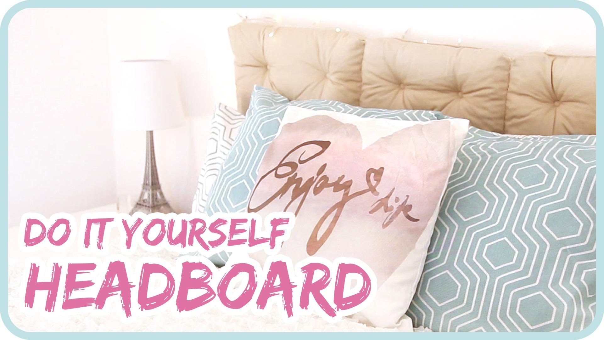 DIY Headboard I individuelles Kopfende