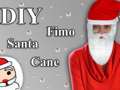 FIMO Nikolaus (Cane): Polymer Clay Santa - Tutorial [HD.DE] (EN-Sub)
