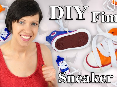 FIMO Turnschuhe: Polymer Clay Sneakers - Tutorial [HD.DE] (EN-Sub)