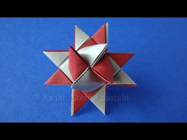 Fröbelstern - Origami Stern basteln