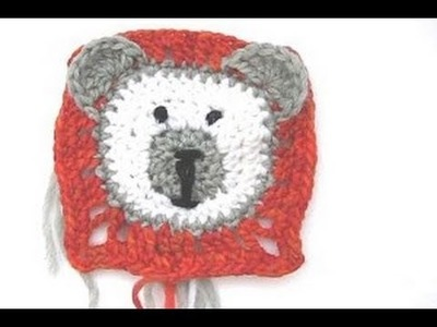 Häkeln * Granny Square Teddybär * Teil 2 * Ohren, Gesicht & Ausarbeitung