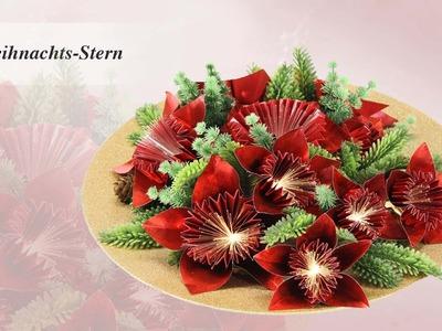 Ideen mit Herz - Origami Stern - Weihnachtsstern