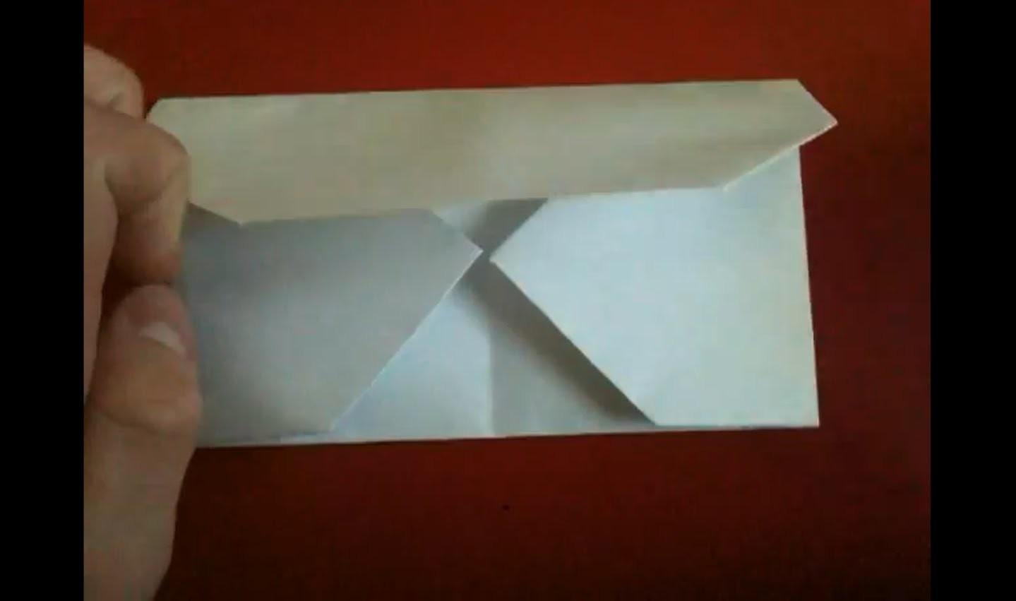 Origami Brief falten - Faltanleitung