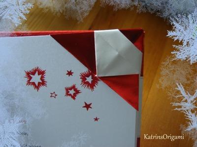 Origami ❊  Santa Bookmark ❊