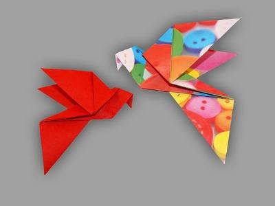 Origami Taube (Dove): Faltanleitung (Live erklärt)