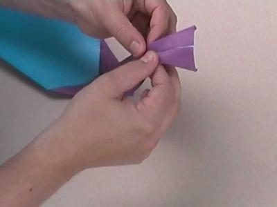 Origami Violinschnecke