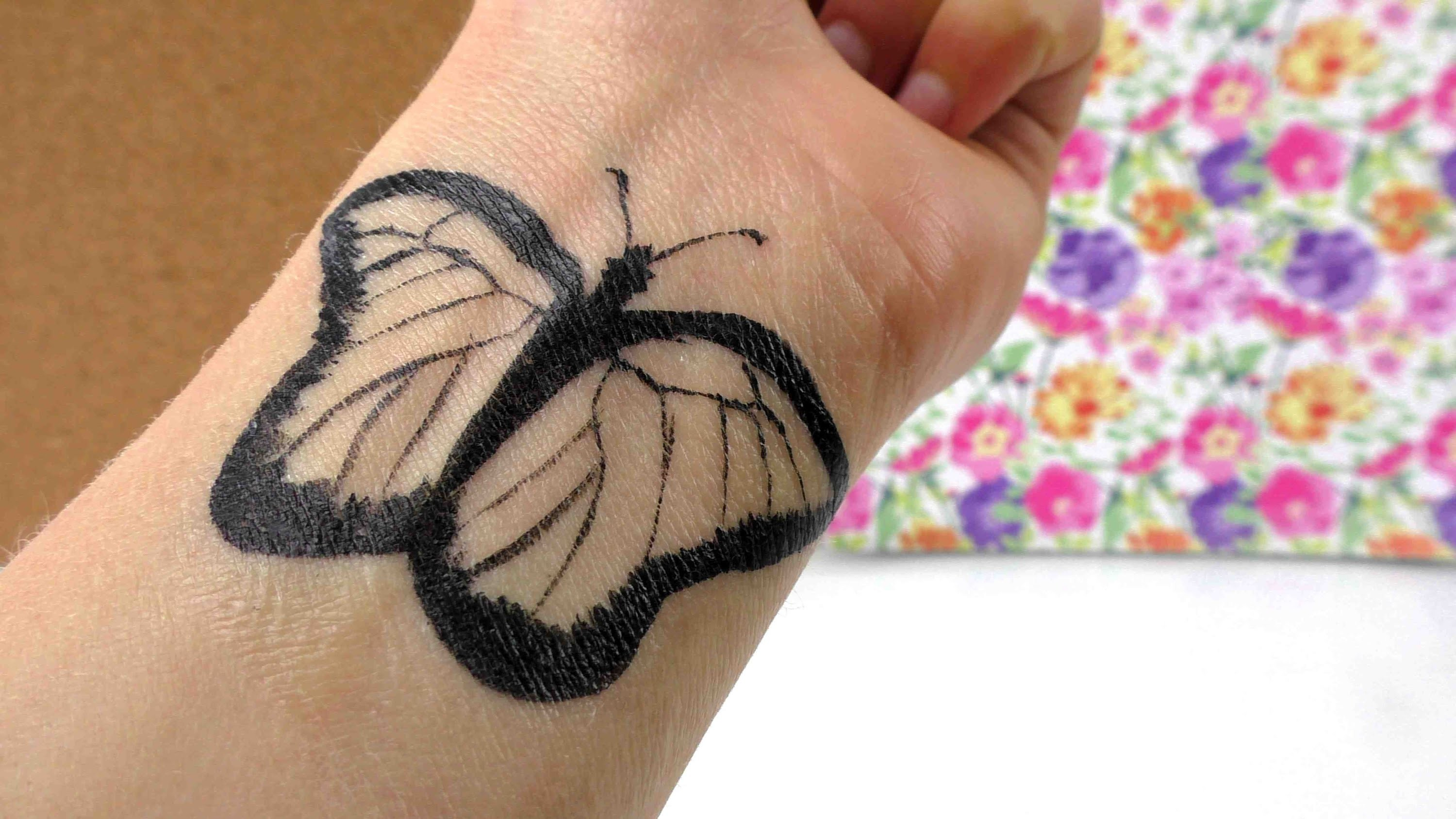 Tattoo selber machen deutsch - DIY TATTOO temporär Tutorial - Sommer DIY Ideen