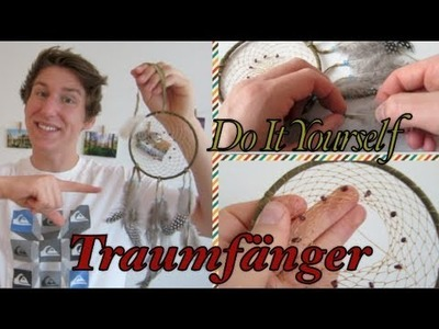 Traumfänger Selber machen! Do it Yourself Dreamcatcher DIY