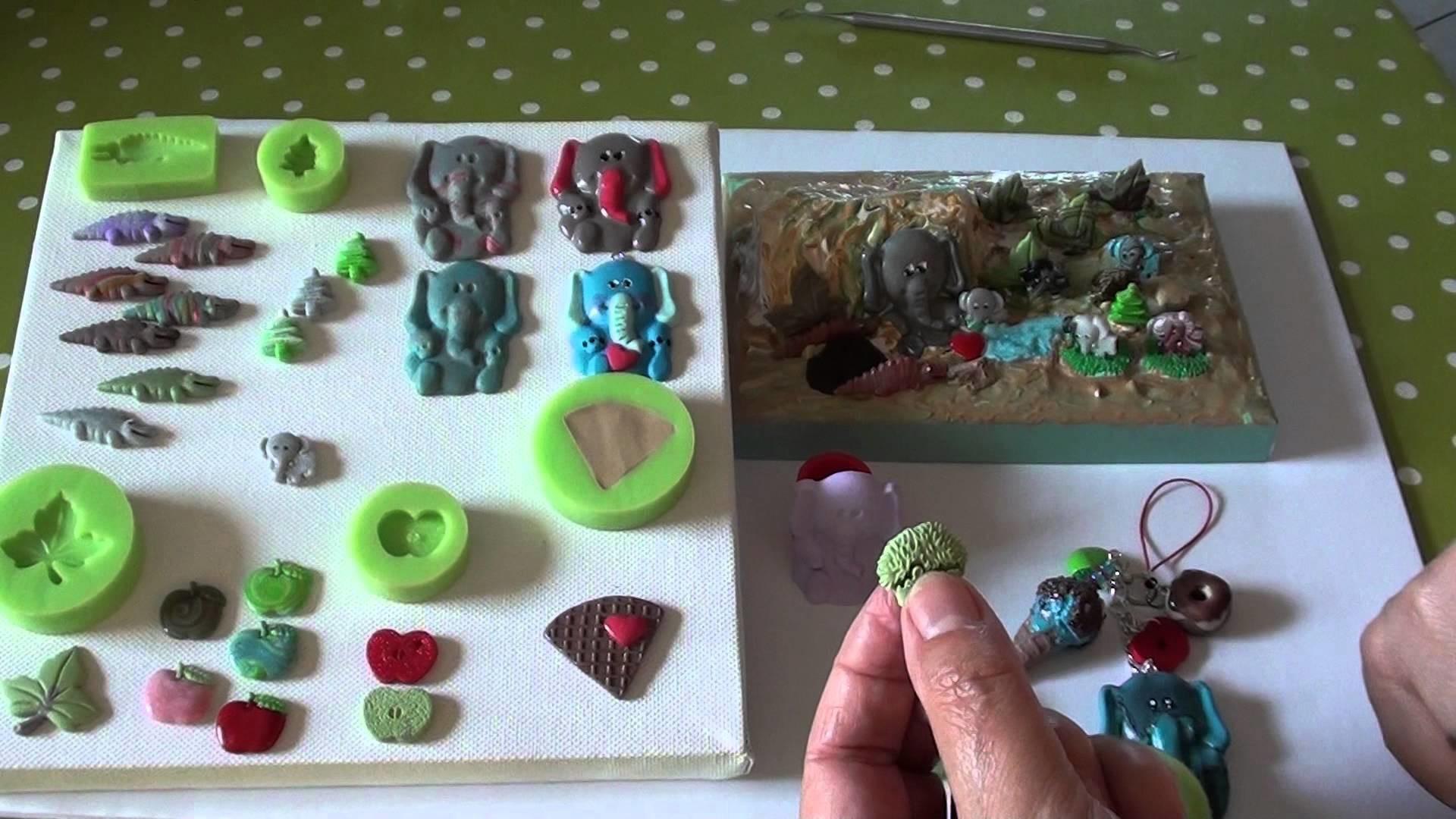 12(Tuto Fimo) ÜP für Sabrina, MOLDS Polymer Clay