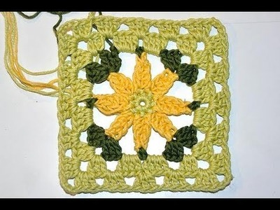 Adventkalender 10 * Granny Square