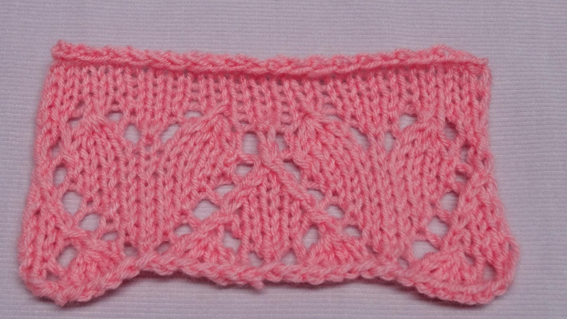 Ajour Herzen - Lace Hearts - Strickmuster - Knitting Pattern