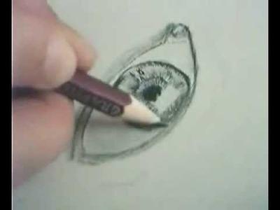 Auge Zeichnen 01 - Eye drawing tutorial part1