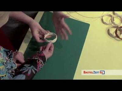 Bastelzeit TV 57 - Armreifen aus Peddigrohr