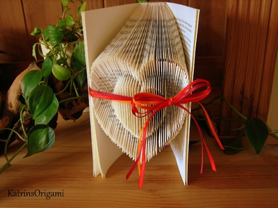 Book folding Art - Origami Sculpture