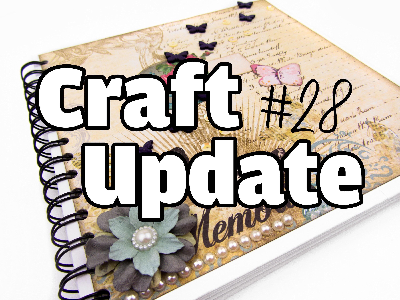 [Craft Update #28 | Scrapbook] Hochzeitsalbum mit Vintage & Schmetterlingen :)