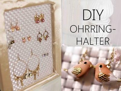 DIY | OHRRING-HALTER