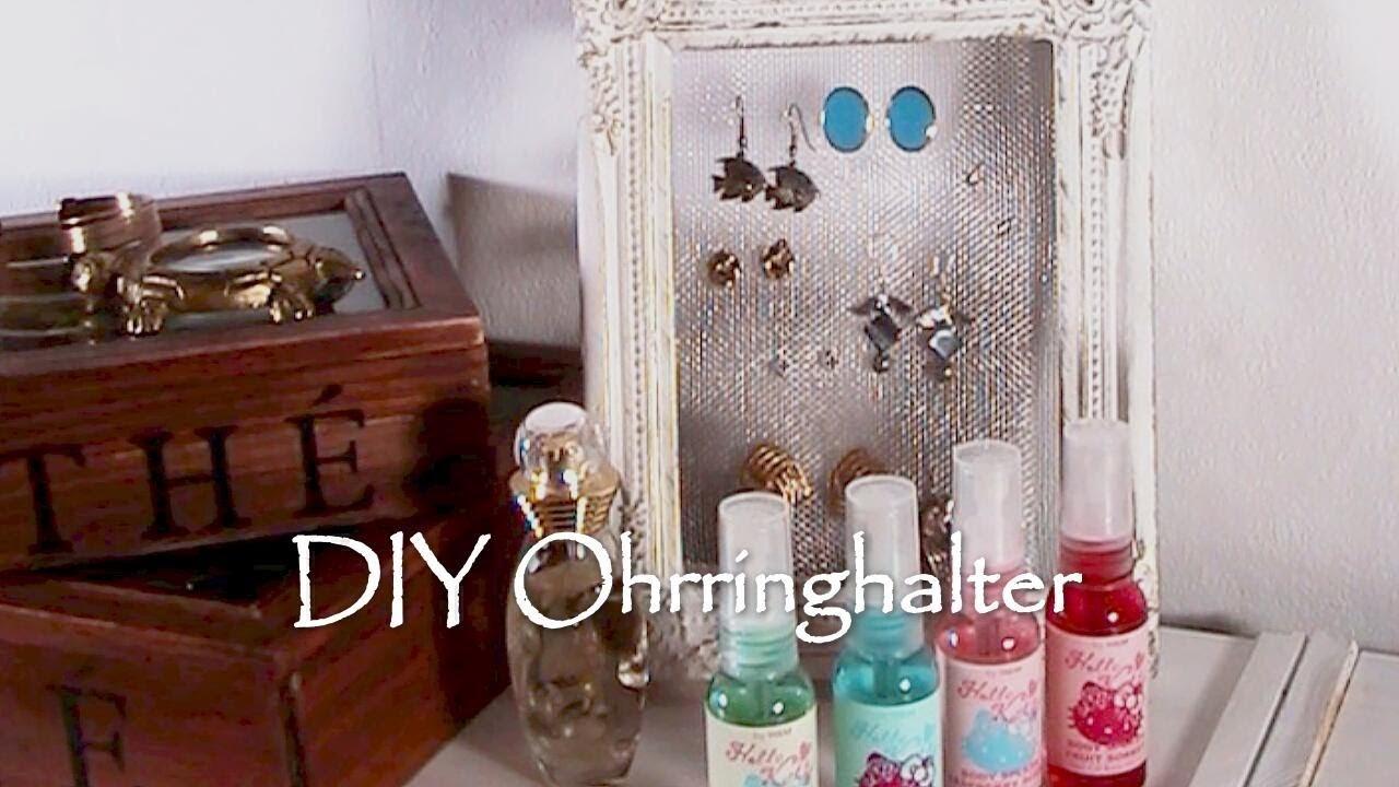 DIY Ohrringhalter [Tutorial]