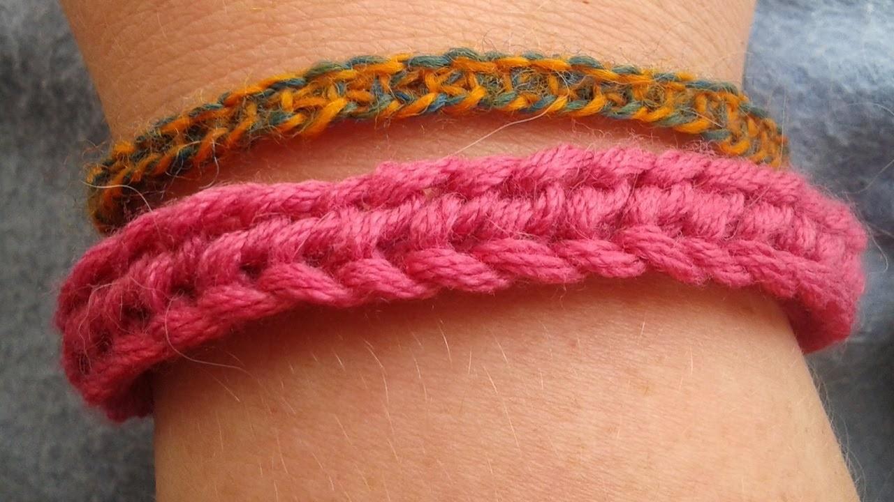 Einfaches Armband stricken - DIY