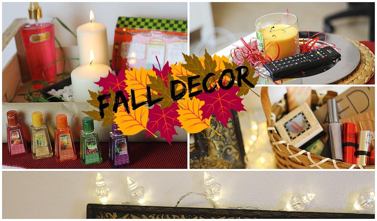 Fall Room Decor - Zimmer herbstlich dekorieren I & mini DIY
