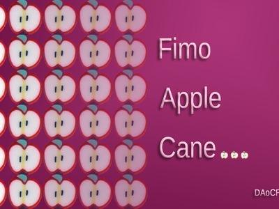 FIMO Apfel-Cane: Polymer Apple-Cane - Tutorial [HD.deutsch] (EN-Sub)