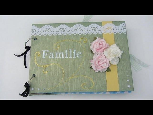 [Geschenke-Tipp] Scrapbook Familienalbum