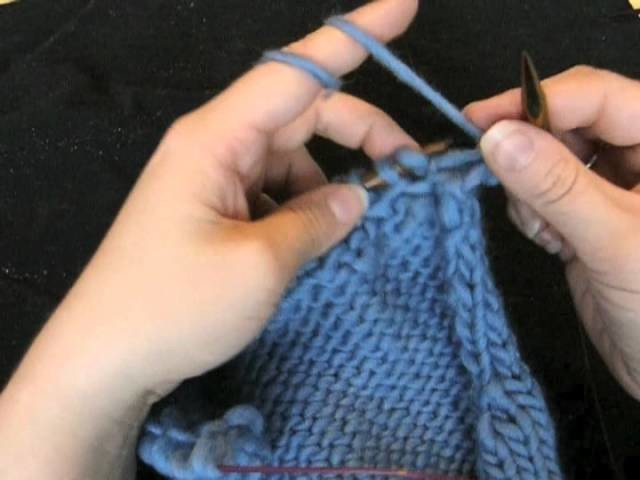Muster stricken - Herringbone oder horizontales Fischgrät
