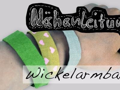 Nähanleitung Freundschaftsarmband selber nähen Wickelarmband Armband Tutorial Anleitung kostenlos