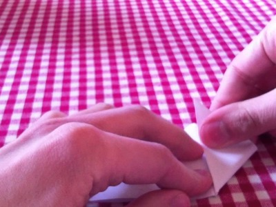 Origami Faltanleitung: der Teufel