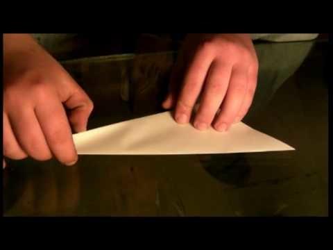 Origami für Anfänger die Ente (Falttechnik - anleitung)