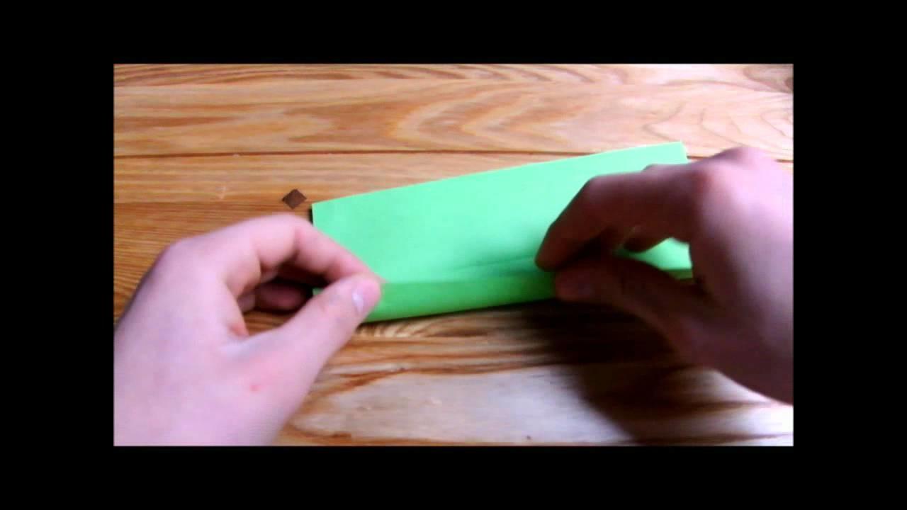 Origami Hose falten