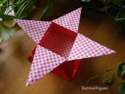 Origami ☆ Star Box ☆ ( traditional )  ¸.•*☽☼☾*•.¸¸